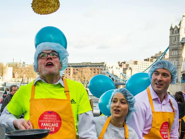 Flipping Marvellous Pancake Race