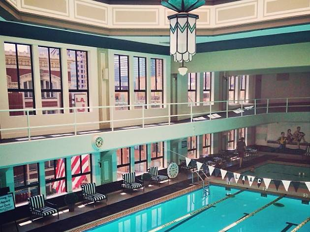 Awesome Hotels With Indoor Pools. The Hotel At Los Angeles Athletic Club