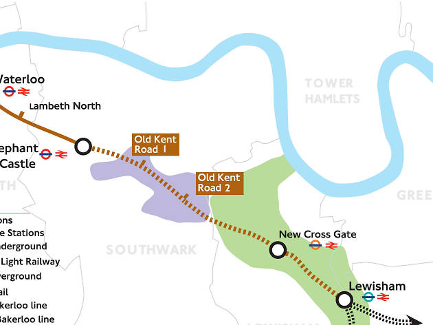 TfL has revealed where the new Bakerloo line stations will be
