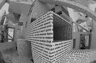 Dimensões Variáveis - City of Words - Vito Acconci