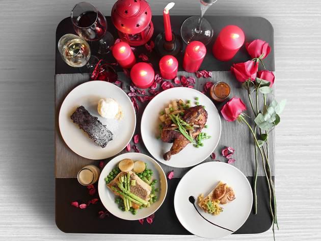 Tujo Valentine's Day menu