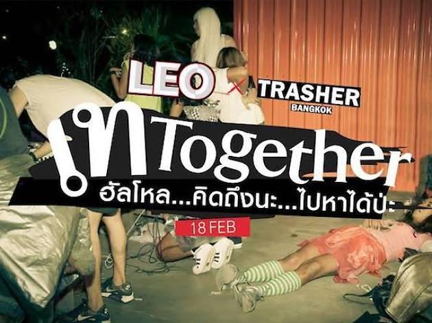 "LEO X Trasher ""Tay Together"""