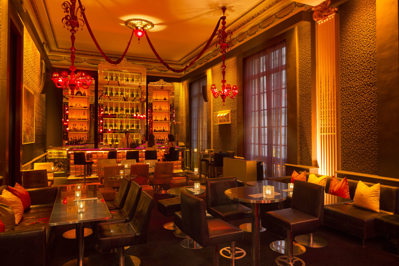 Pershing Hall Bar