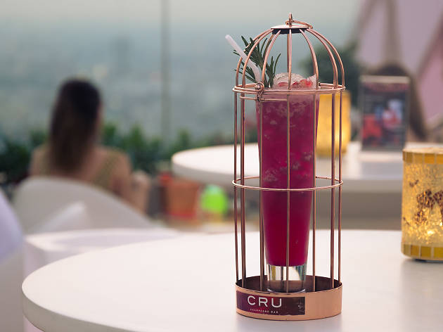 Cru Champagne Bar at Centara Grand