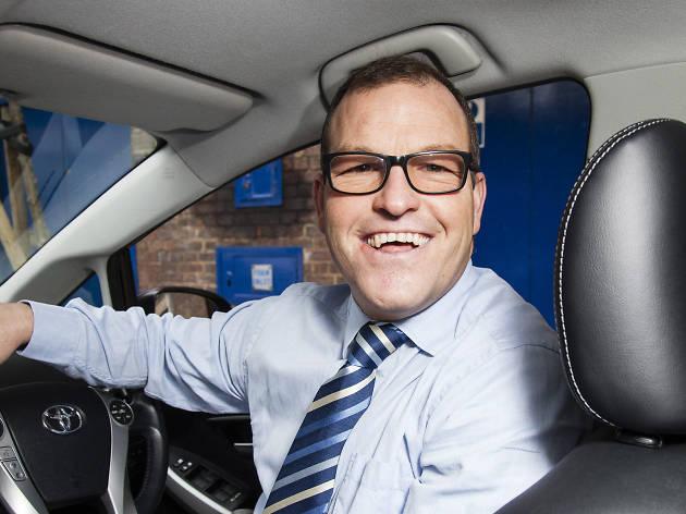 Wayne Morrison, Uber driver