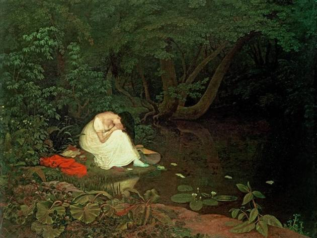 'Disappointed Love', 1821, by Francis Danby