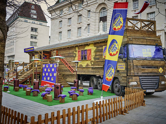 Cadbury Creme Egg Hunting Lodge