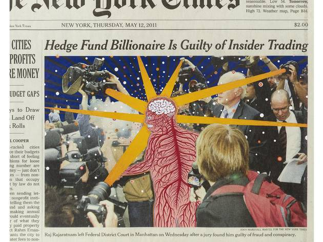 Fred Tomaselli: Paper