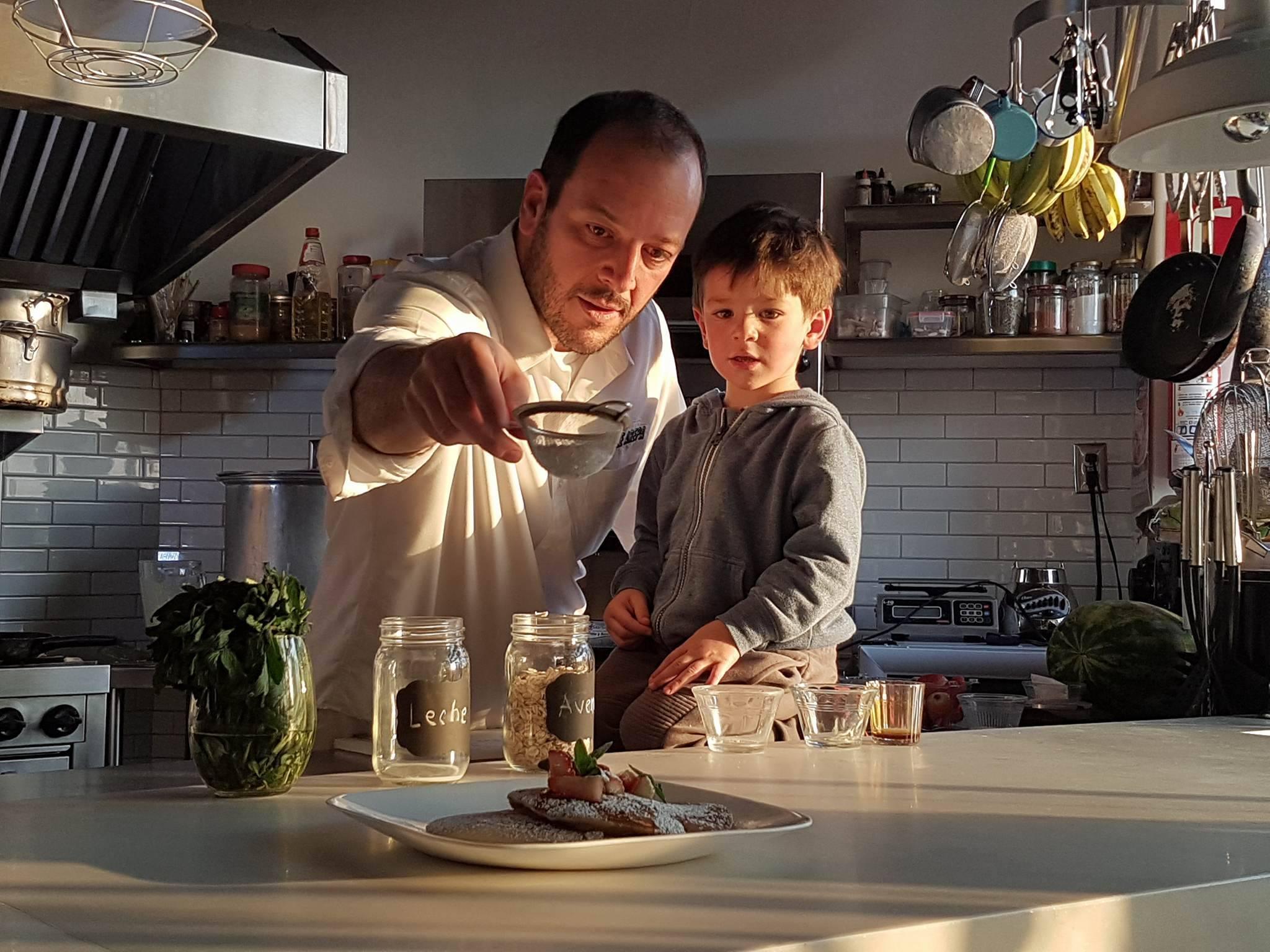 La lonchera del chef: Jorge Udelman y Noah