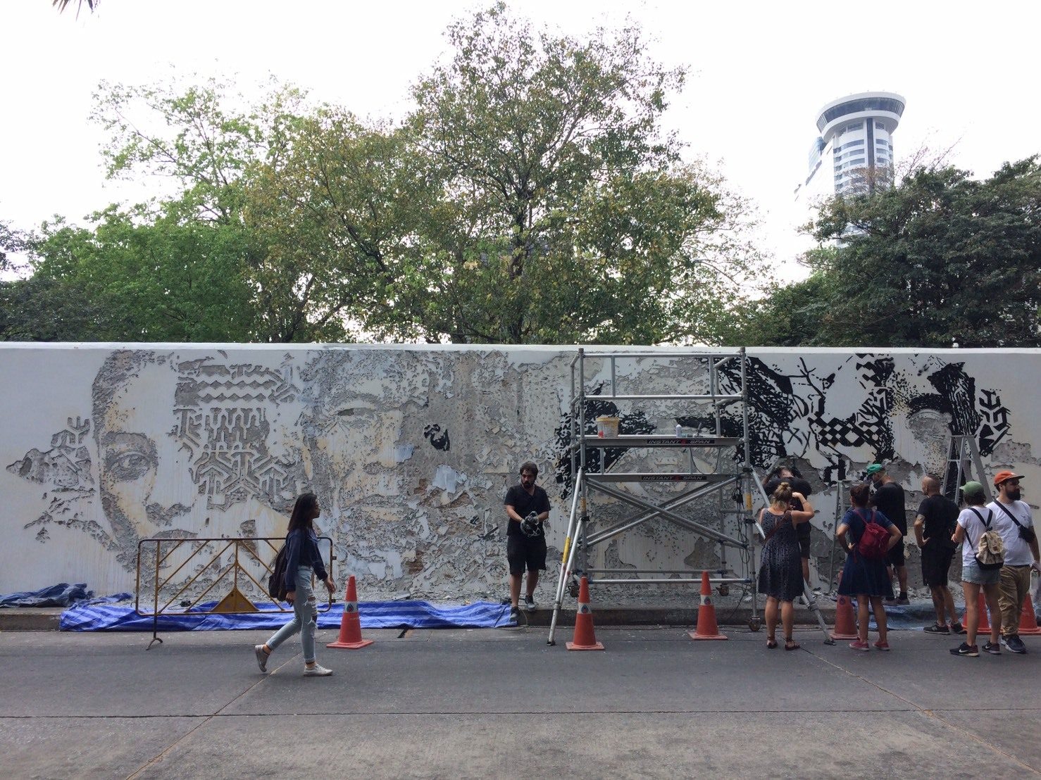 Scratching the Surface by Vhils