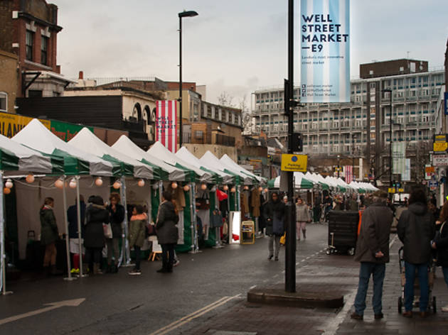 Nine awesome things to try at Hackney's Well Street Market
