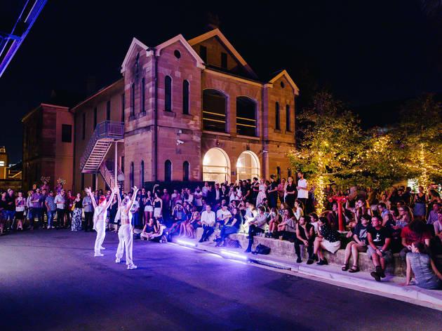 Art Month Sydney 2016 East Sydney Art at Night Art Bar photographer credit James Ambrose courtesy Art Month Sydney 2017