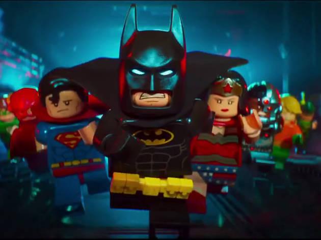 Batman la Lego película