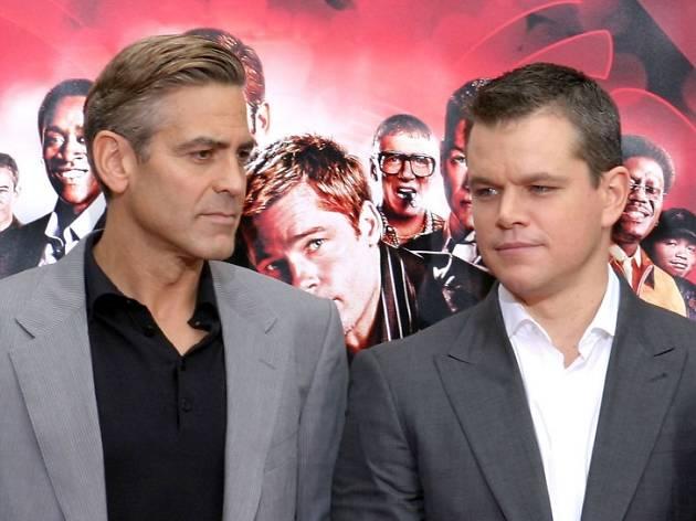Clooney y Matt Damon