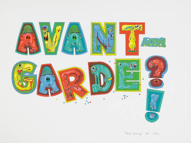 Eduardo Paolozzi: 'Avant-Garde' 1970 Screenprint