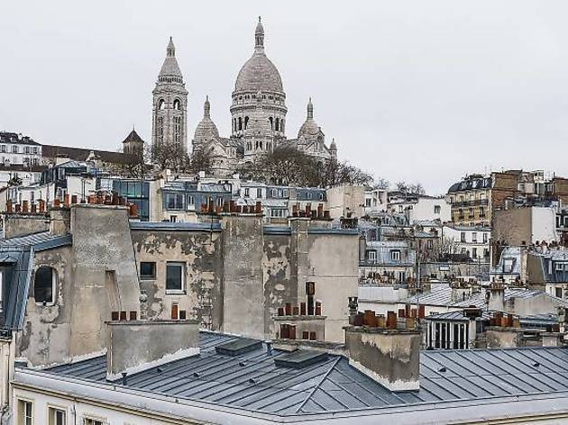 The top ten hotels in Montmartre
