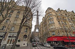tour Eiffel mur de verre blindage