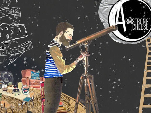 Man on the Moon: Emergency Pop-Up Cheese Cafe