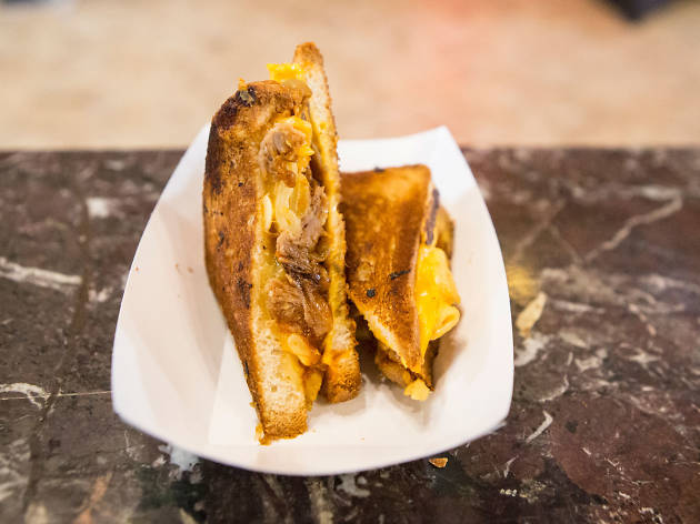 We crowned a winner at Time Out L.A.'s inaugural Grilled Cheese Meltdown
