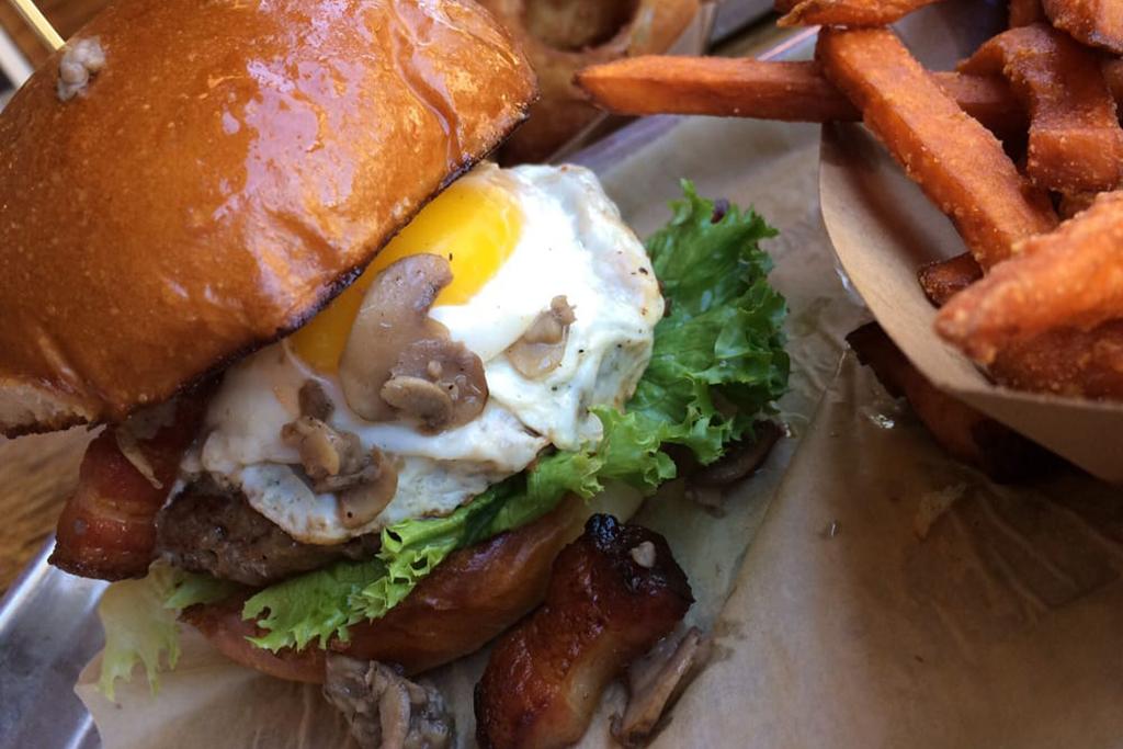 Big Daddy burger at Burger Tap and Shake