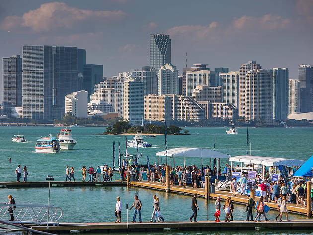 The Miami International Boat Show