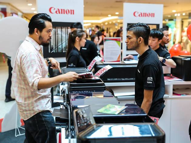 Canon 30th anniversary product expo