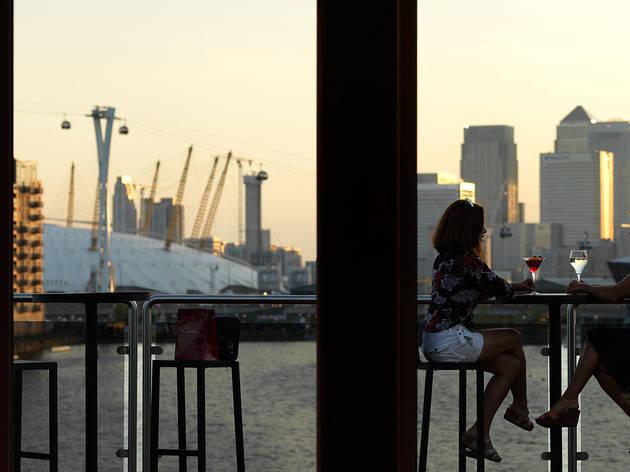 Sundown Bar at Sunborn Yacht