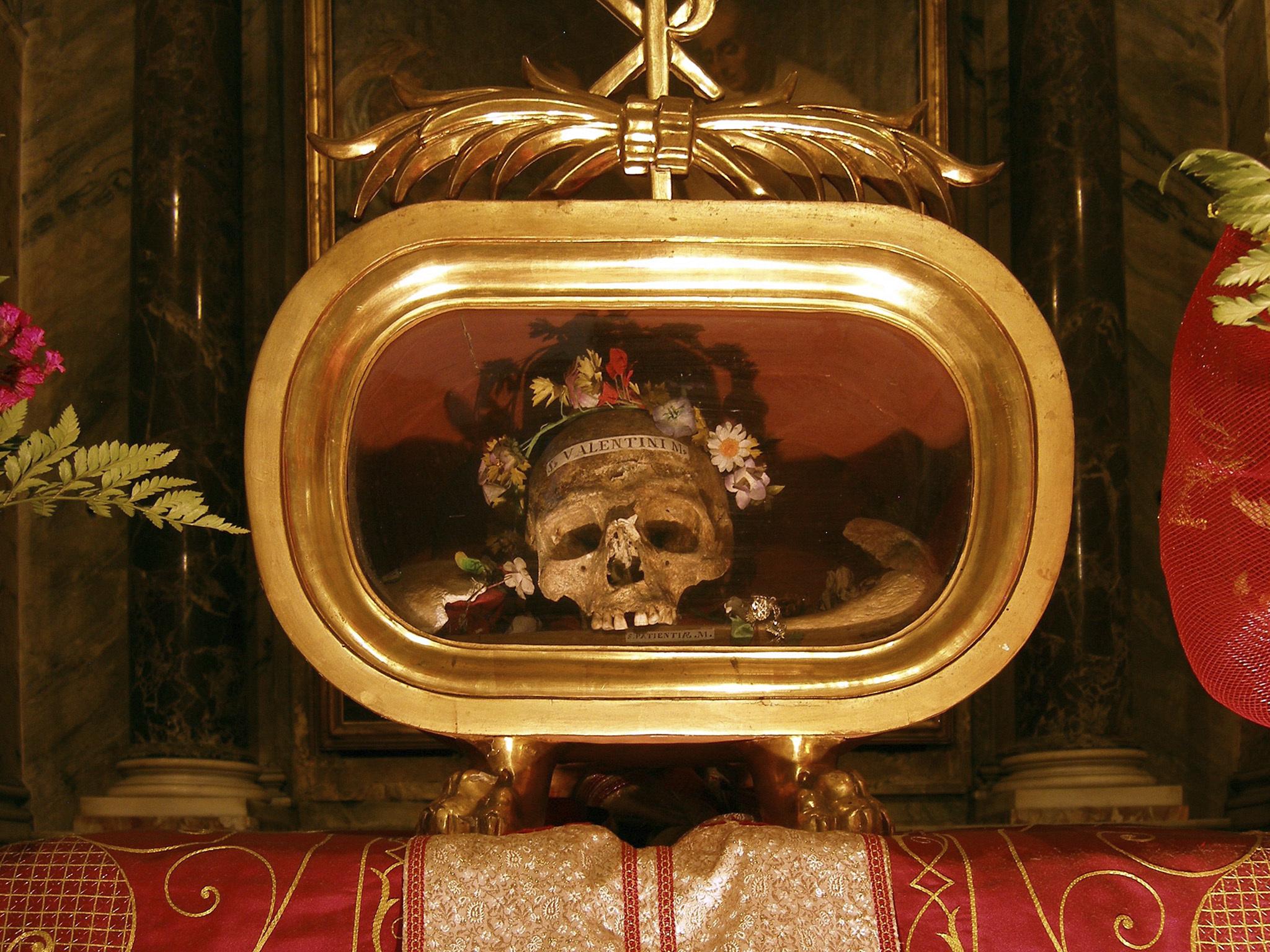 cranio de s valentim