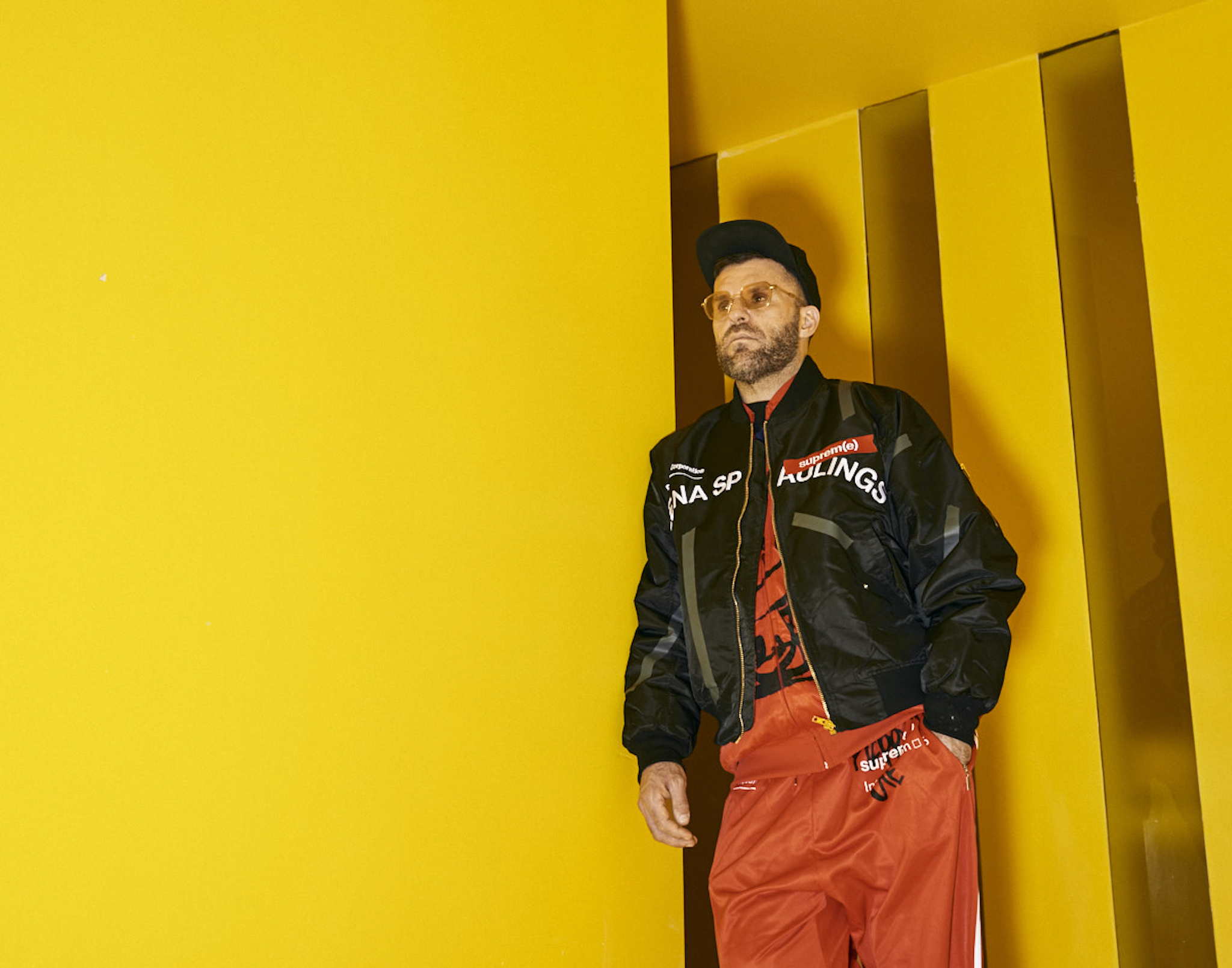 Bjarne Melgaard talks about repurposing his old clothes as high art