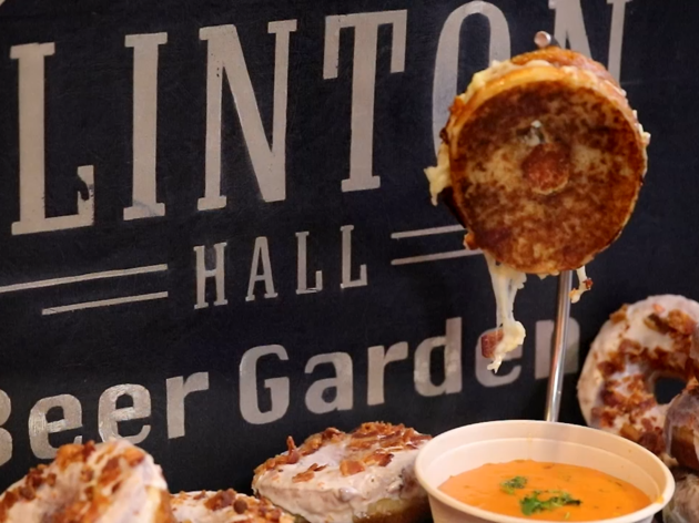 A doughnut grilled cheese is coming to Clinton Hall this week