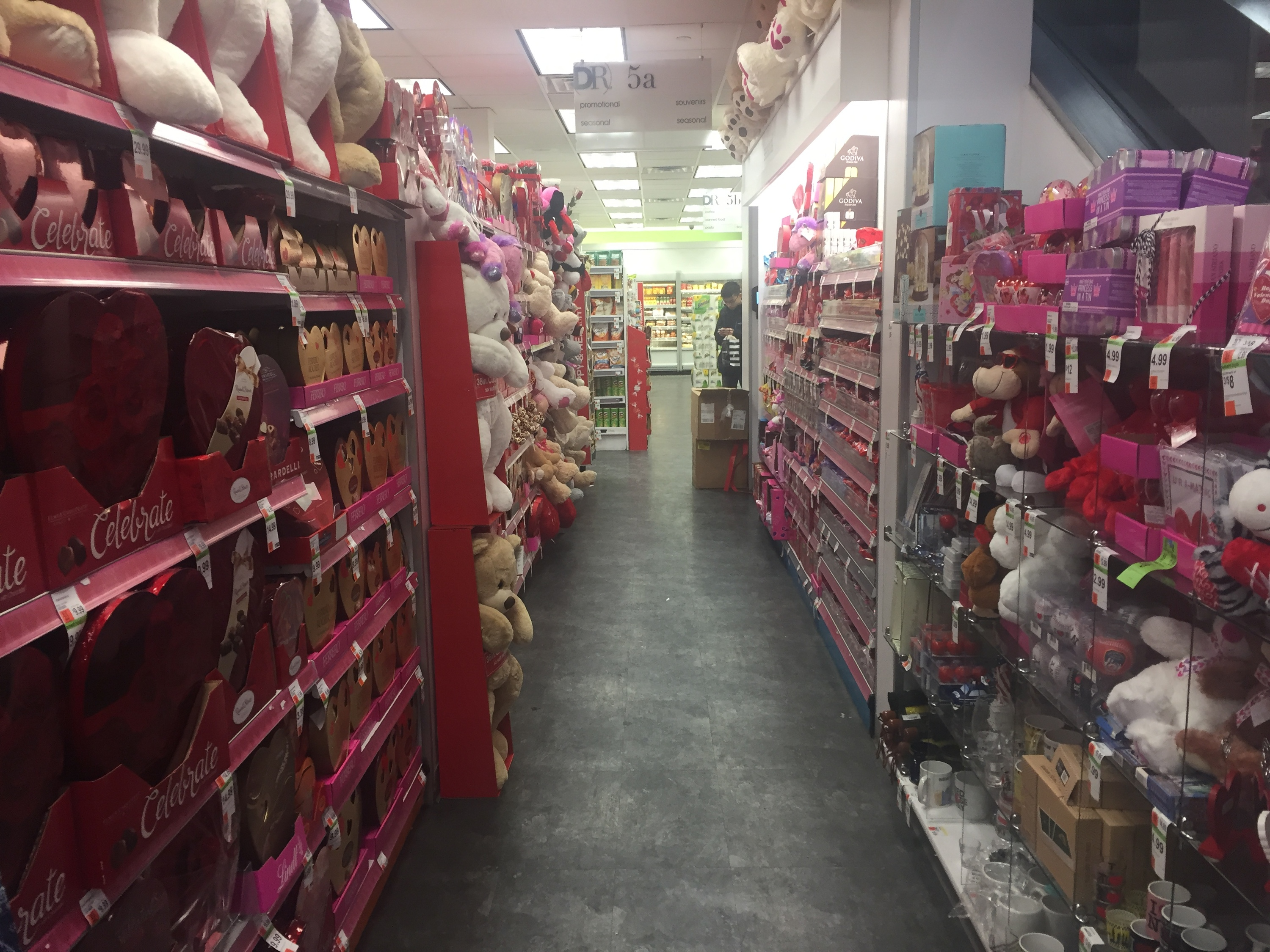 The saddest gifts for sale in the Valentine's Day aisle at Duane Reade