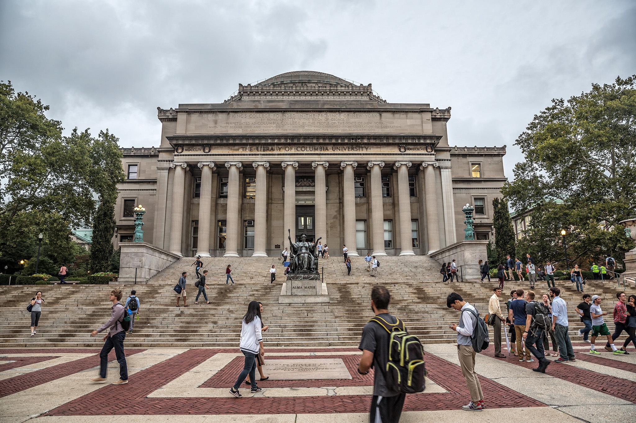 Barack Obama, Columbia University