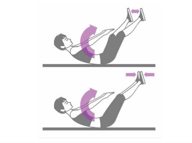 Sexercise para ellas / abdominales