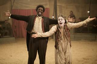 Still from 2016 French film Monsieur Chocolat