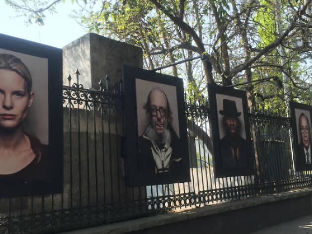 HEIMAT Alemania: Tus rostros / Galería abierta del Bosque de Chapultepec