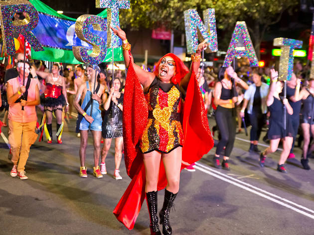 Mardi Gras events in Sydney