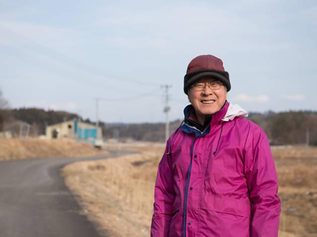 飯舘村で活動を続ける日比輝雄