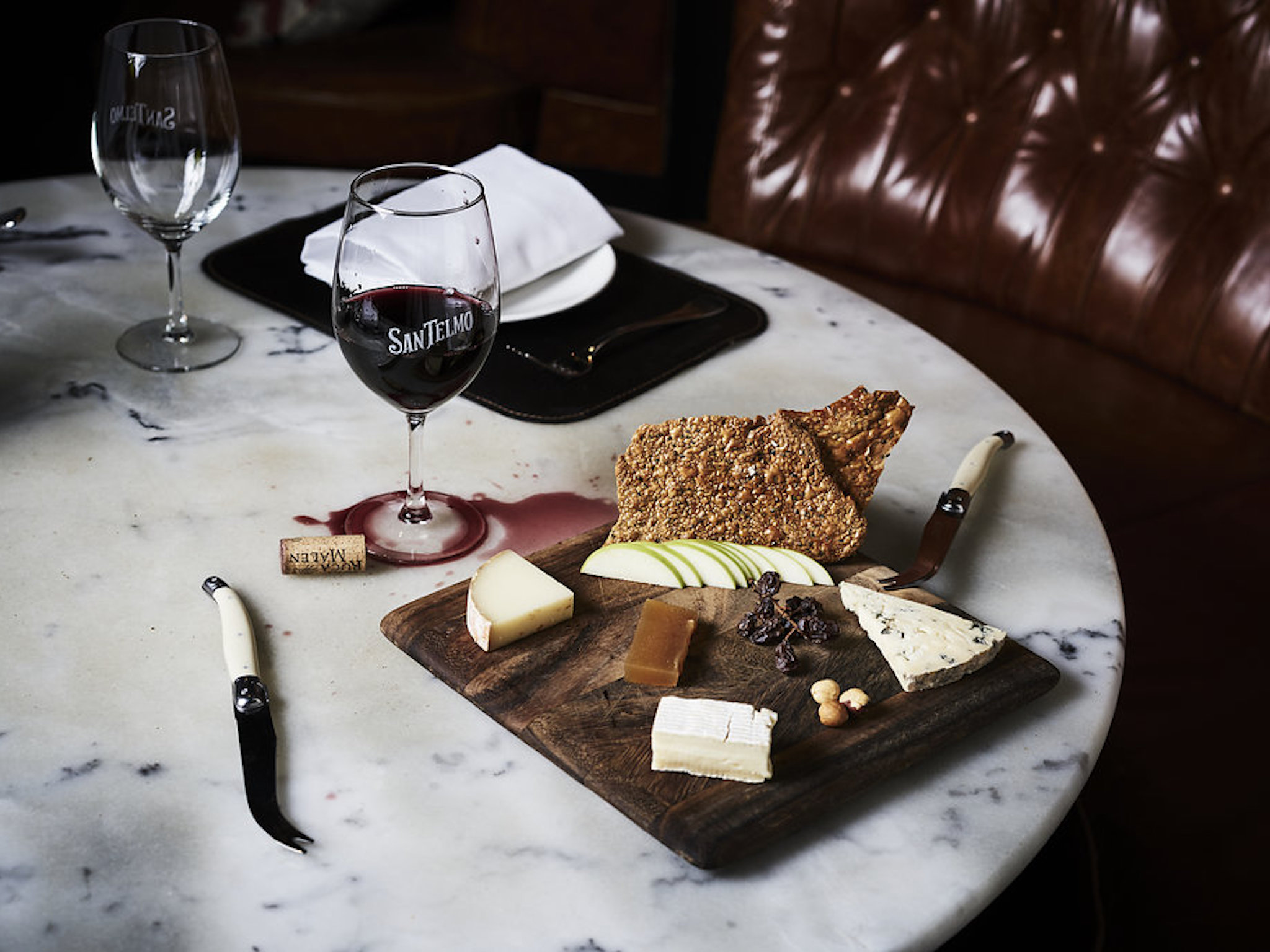 San Telmo cheese board