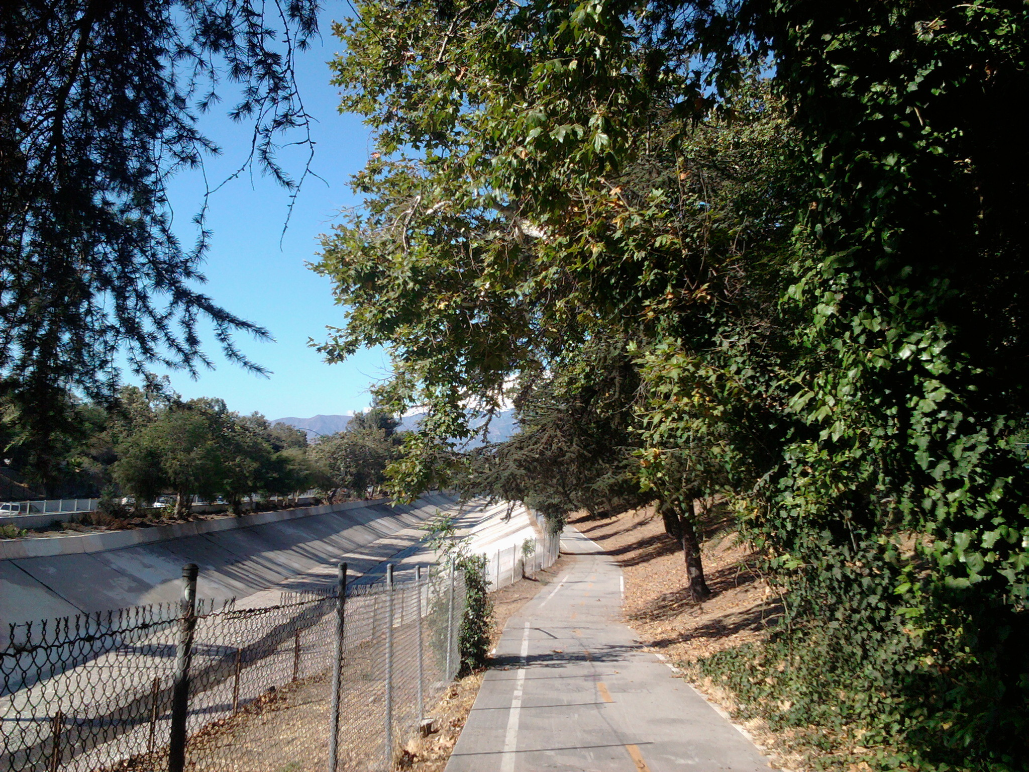 Arroyo Seco Bike Path