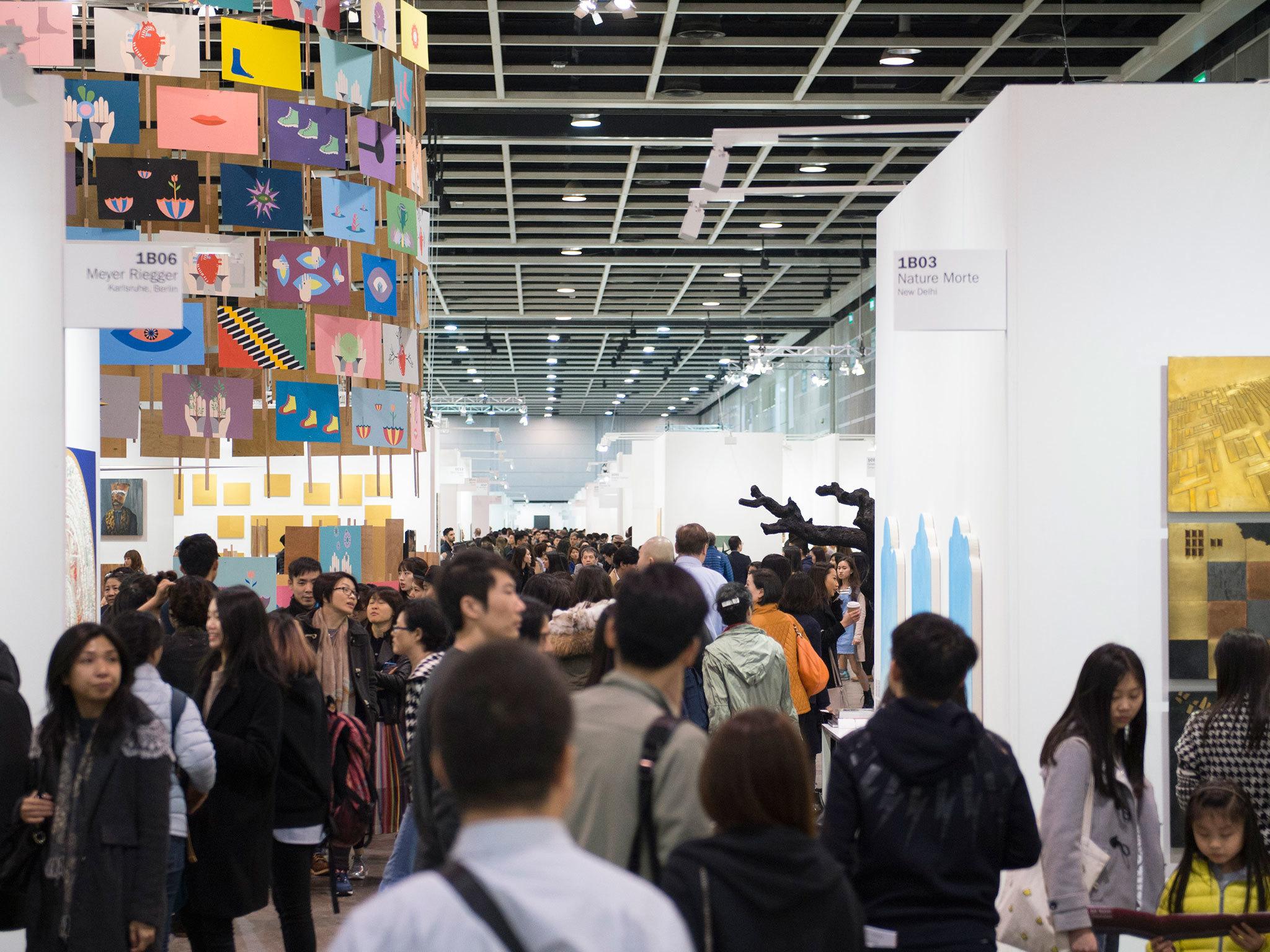 香港巴塞爾藝術展