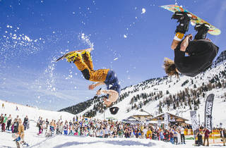 Water Splash, Snowbombing competition