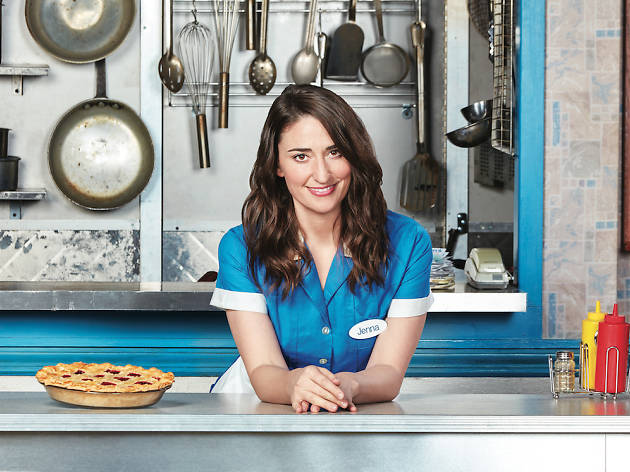 Sara Bareilles on Broadway in Waitress