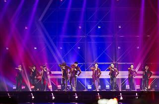 EXO en concierto.