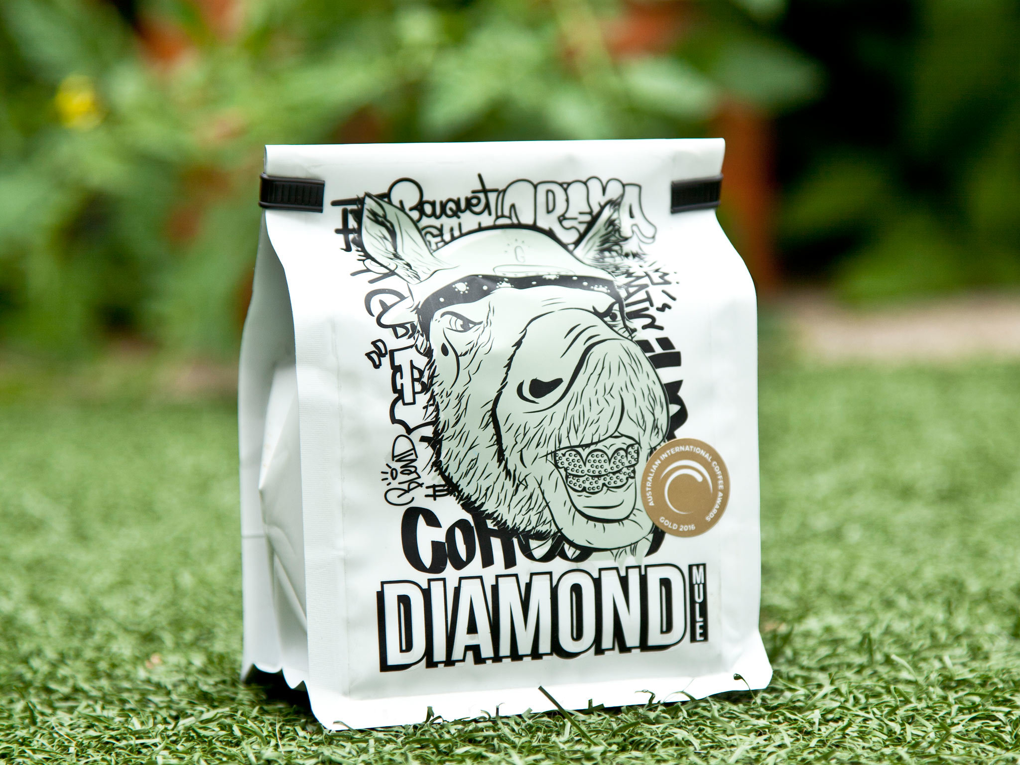 Grouch & Co Diamond Mule coffee