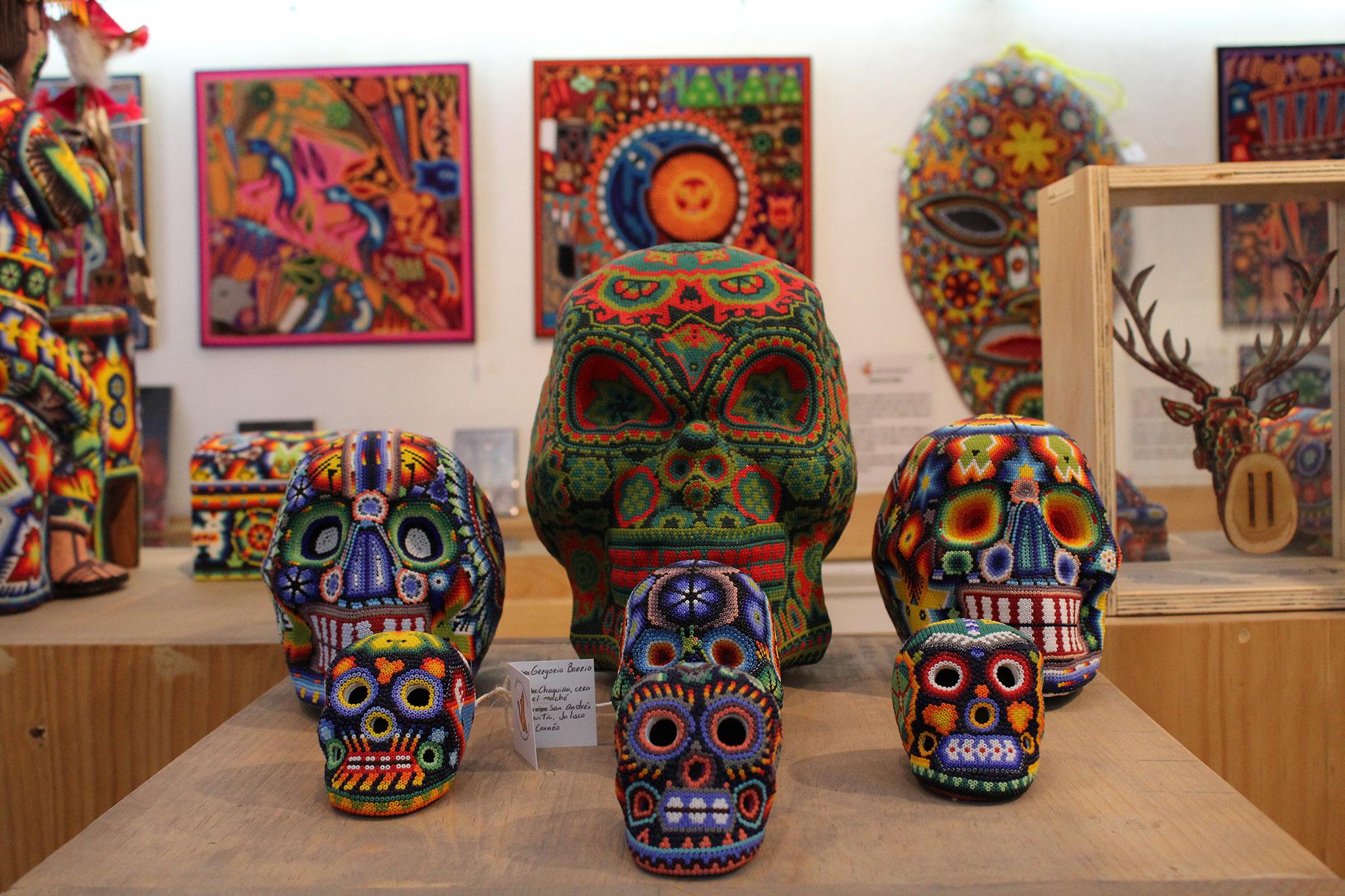 Bienal de Arte Huichol en la CDMX