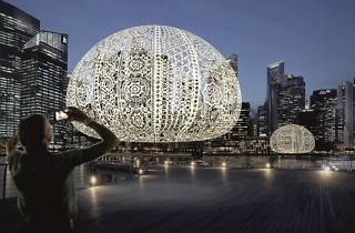 Urchin, i Light Marina Bay, Choi+Shine