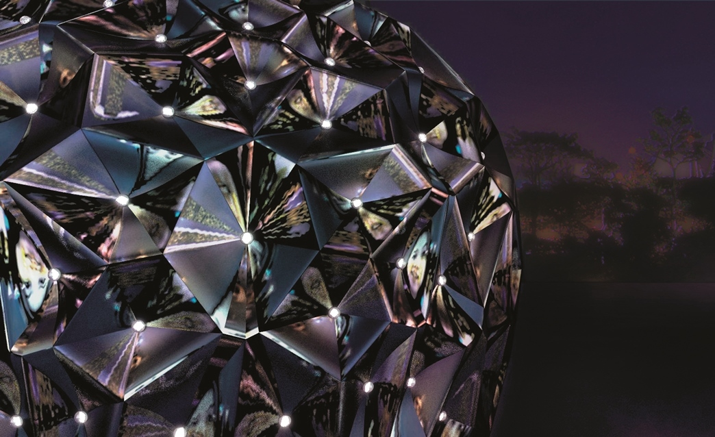 Kaleidoscopic Monolith by the Singapore University of Technology and Design (SUTD)