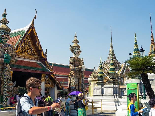 The Grand Palace Wat Phra Kaew Attractions in Rattanakosin Bangkok