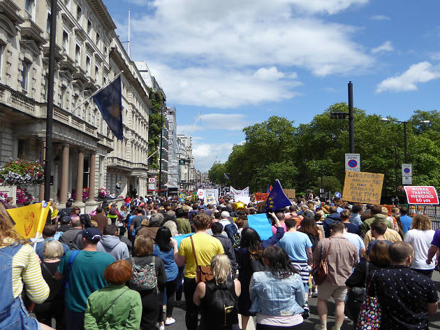 March for Europe, 2016, London
