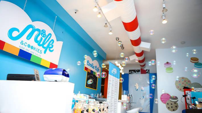 Milk & Cookies Kids Spa and Salon